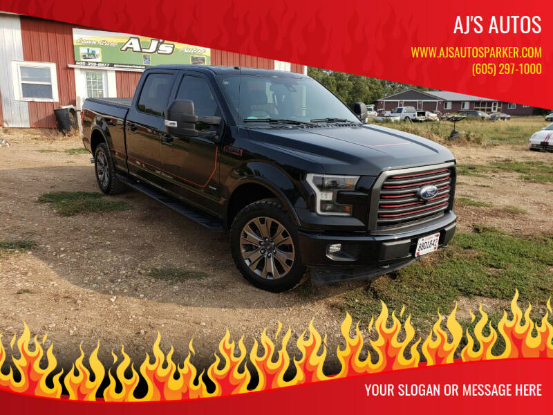 2017 Ford F-150 for sale at AJ's Autos in Parker SD