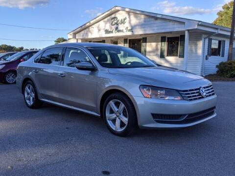 2012 Volkswagen Passat for sale at Best Used Cars Inc in Mount Olive NC
