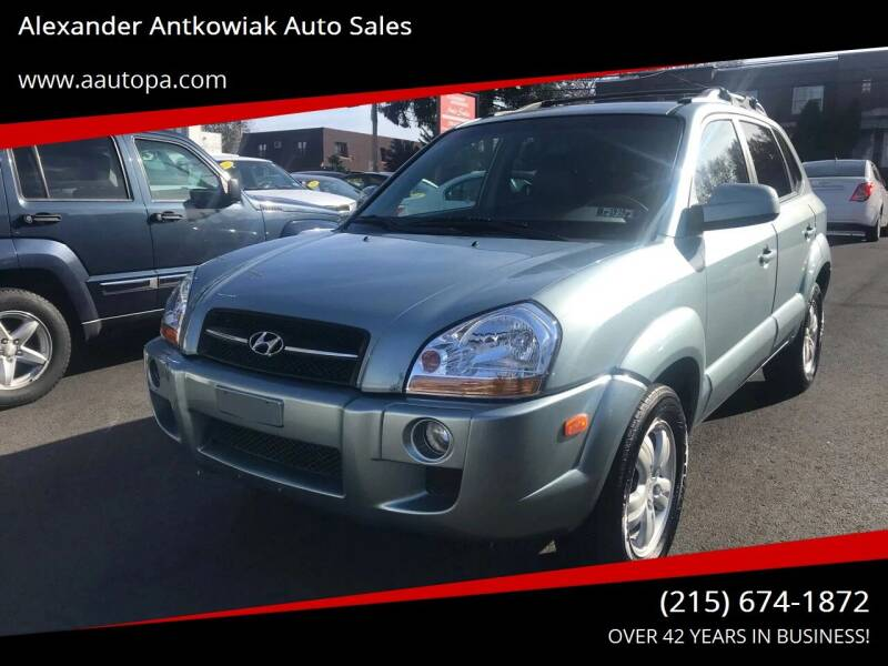 2006 Hyundai Tucson for sale at Alexander Antkowiak Auto Sales in Hatboro PA