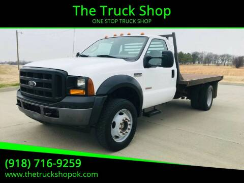 2006 Ford F-550 Super Duty for sale at The Truck Shop in Okemah OK