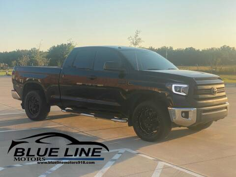 2015 Toyota Tundra for sale at Blue Line Motors in Bixby OK