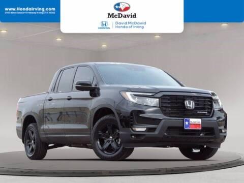 2021 Honda Ridgeline for sale at DAVID McDAVID HONDA OF IRVING in Irving TX