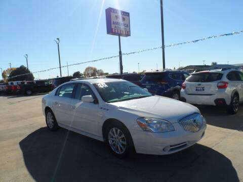 2010 Buick Lucerne for sale at America Auto Inc in South Sioux City NE