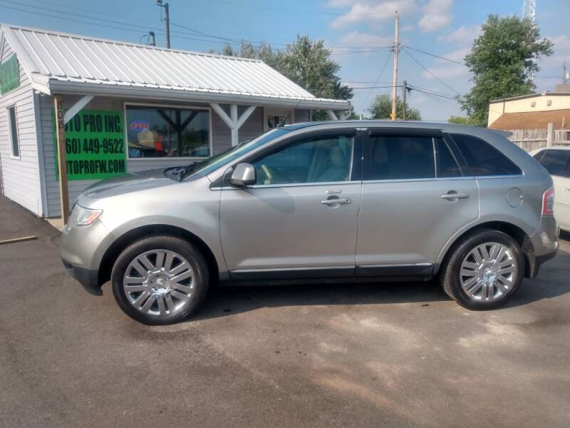 2008 Ford Edge for sale at Auto Pro Inc in Fort Wayne IN