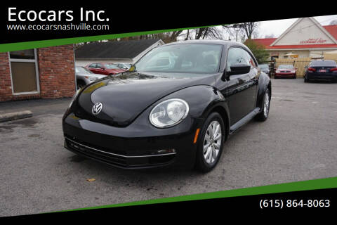 2015 Volkswagen Beetle for sale at Ecocars Inc. in Nashville TN