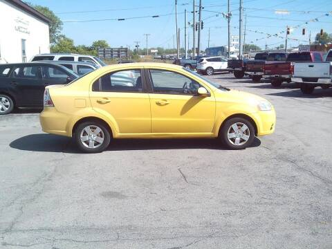 2010 Chevrolet Aveo for sale at Settle Auto Sales TAYLOR ST. in Fort Wayne IN