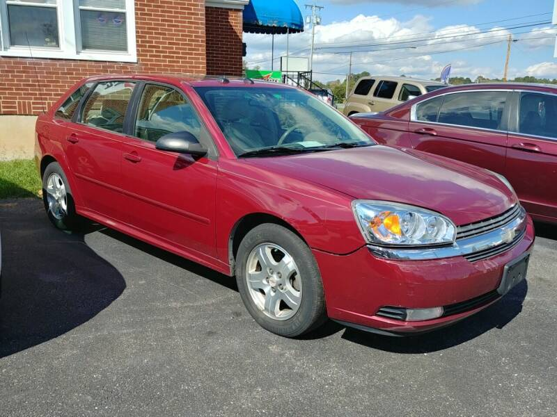2004 Chevrolet Malibu Maxx for sale at Regional Auto Sales in Madison Heights VA