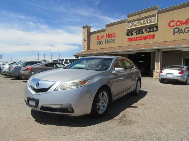 2011 Acura TL for sale at Import Motors in Bethany OK