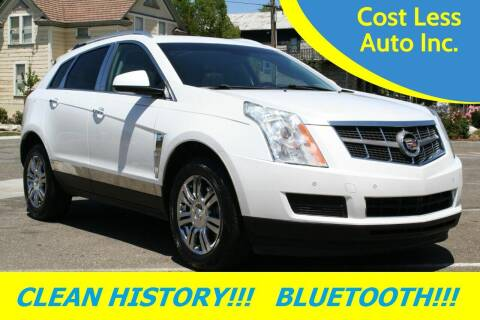 2012 Cadillac SRX for sale at Cost Less Auto Inc. in Rocklin CA