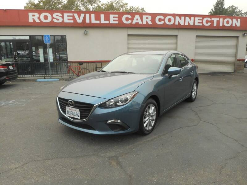 2016 Mazda MAZDA3 for sale at ROSEVILLE CAR CONNECTION in Roseville CA