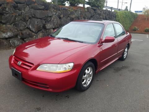 2001 Honda Accord for sale at South Tacoma Motors Inc in Tacoma WA