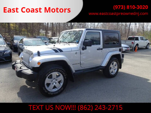 2007 Jeep Wrangler for sale at East Coast Motors in Lake Hopatcong NJ