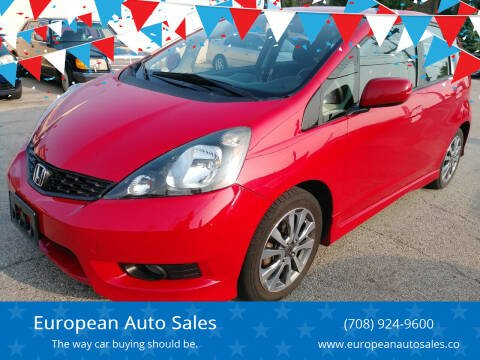 2012 Honda Fit for sale at European Auto Sales in Bridgeview IL