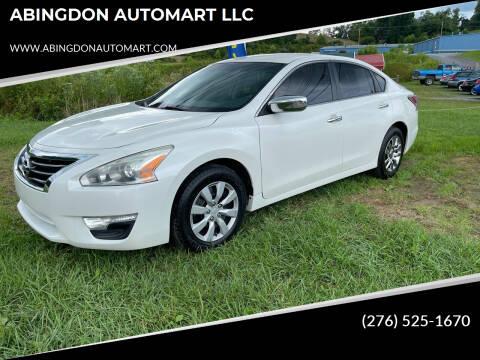 2014 Nissan Altima for sale at ABINGDON AUTOMART LLC in Abingdon VA