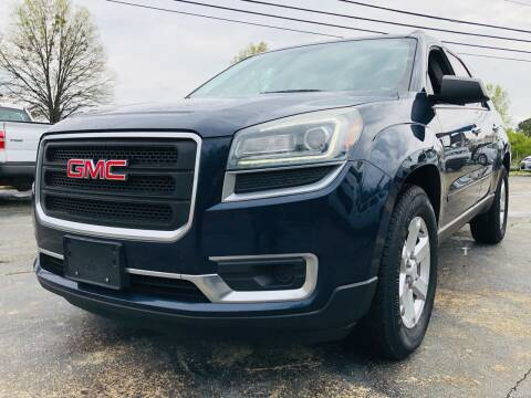 2016 GMC Acadia for sale at Capital Motors in Raleigh NC