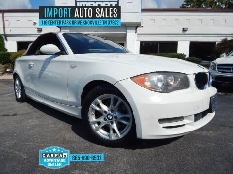 2009 BMW 1 Series for sale at IMPORT AUTO SALES in Knoxville TN