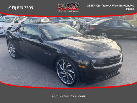 2013 Chevrolet Camaro for sale at Complete Auto Center , Inc in Raleigh NC