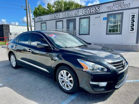 2015 Nissan Altima for sale at Best Deals Cars Inc in Fort Myers FL