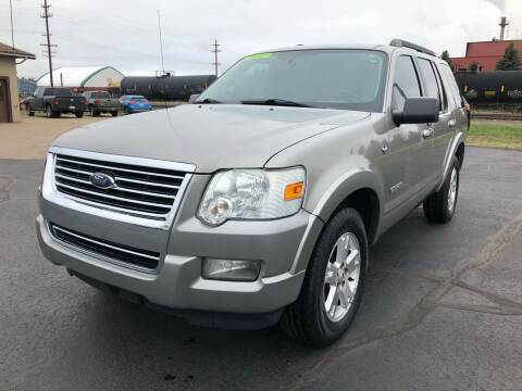 2008 Ford Explorer for sale at Mike's Budget Auto Sales in Cadillac MI