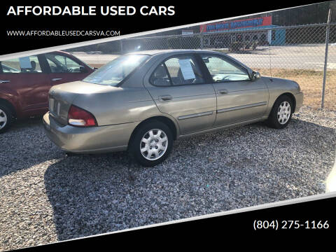 2000 Nissan Sentra for sale at AFFORDABLE USED CARS in Richmond VA