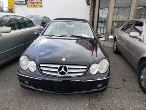 2009 Mercedes-Benz CLK for sale at Jimmys Auto INC in Washington DC