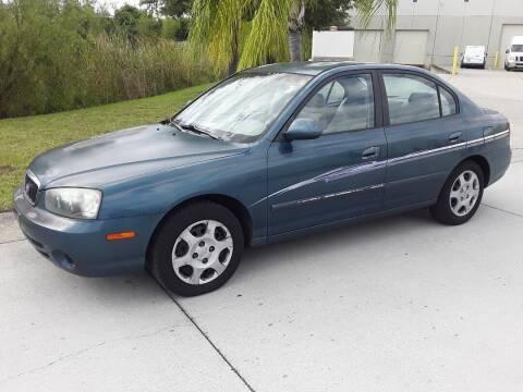 2003 Hyundai Elantra for sale at Coastal Car Brokers LLC in Tampa FL