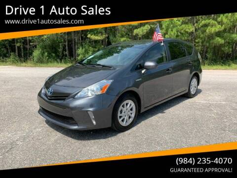 2012 Toyota Prius v for sale at Drive 1 Auto Sales in Wake Forest NC