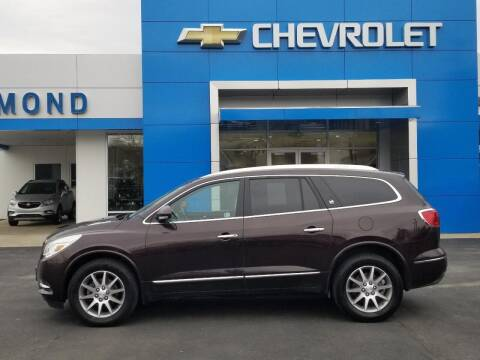 2016 Buick Enclave for sale at EDMOND CHEVROLET BUICK GMC in Bradford PA