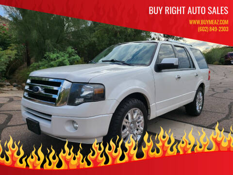 2011 Ford Expedition for sale at BUY RIGHT AUTO SALES in Phoenix AZ