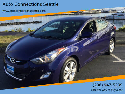 2013 Hyundai Elantra for sale at Auto Connections Seattle in Seattle WA