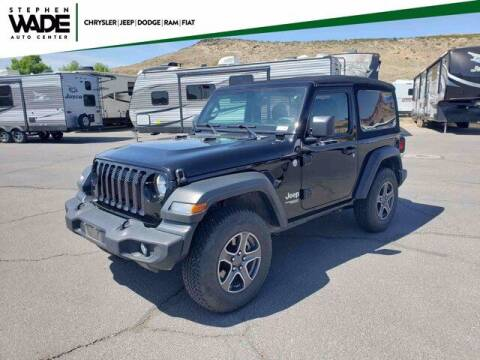 2018 Jeep Wrangler for sale at Stephen Wade Pre-Owned Supercenter in Saint George UT