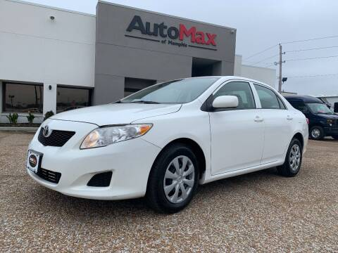 2009 Toyota Corolla for sale at AutoMax of Memphis - Alex Vivas in Memphis TN