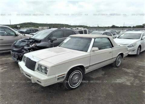 1984 Chrysler Le Baron for sale at OVE Car Trader Corp in Tampa FL
