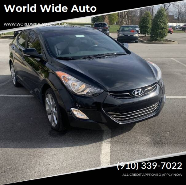 2011 Hyundai Elantra for sale at World Wide Auto in Fayetteville NC