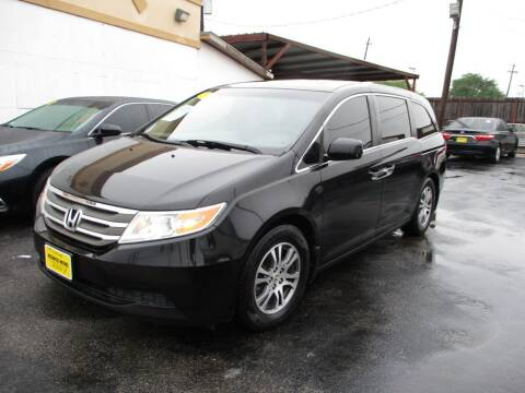2011 Honda Odyssey for sale at Metroplex Motors Inc. in Houston TX
