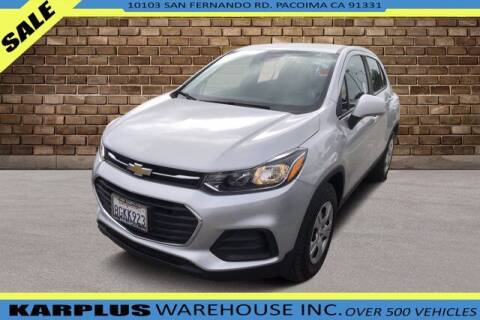 2018 Chevrolet Trax for sale at Karplus Warehouse in Pacoima CA
