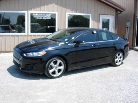2016 Ford Fusion for sale at Greg Vallett Auto Sales in Steeleville IL