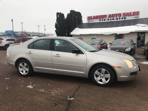 2007 Ford Fusion for sale at BLAESER AUTO LLC in Chippewa Falls WI