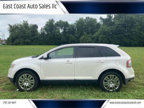 2009 Ford Edge for sale at East Coast Auto Sales llc in Virginia Beach VA