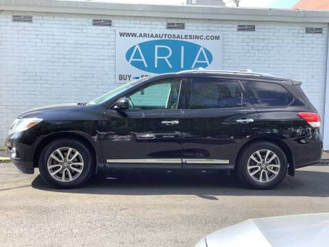 2014 Nissan Pathfinder for sale at ARIA  AUTO  SALES in Raleigh NC