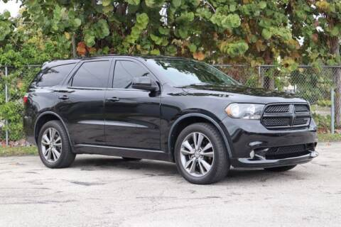 2013 Dodge Durango for sale at No 1 Auto Sales in Hollywood FL