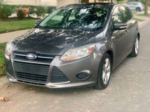 2014 Ford Focus for sale at Krifer Auto LLC in Sarasota FL