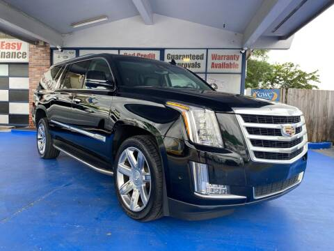 2017 Cadillac Escalade ESV for sale at ELITE AUTO WORLD in Fort Lauderdale FL