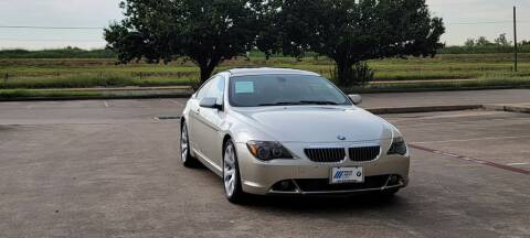 2006 BMW 6 Series for sale at America's Auto Financial in Houston TX