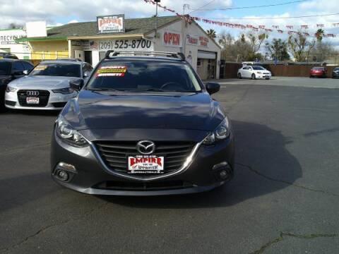2015 Mazda MAZDA3 for sale at Empire Auto Sales in Modesto CA