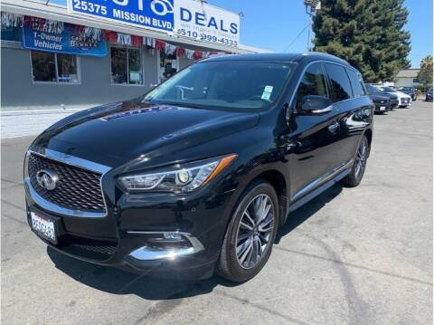 2018 Infiniti QX60 for sale at AutoDeals in Daly City CA