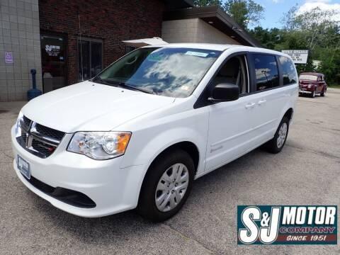 2014 Dodge Grand Caravan for sale at S & J Motor Co Inc. in Merrimack NH