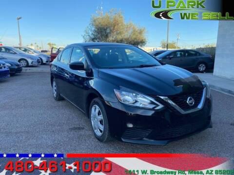2017 Nissan Sentra for sale at UPARK WE SELL AZ in Mesa AZ