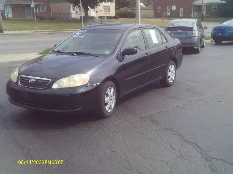 2006 Toyota Corolla for sale at Flag Motors in Columbus OH