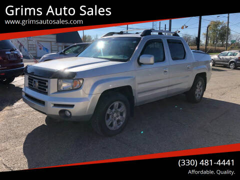 2006 Honda Ridgeline for sale at Grims Auto Sales in North Lawrence OH